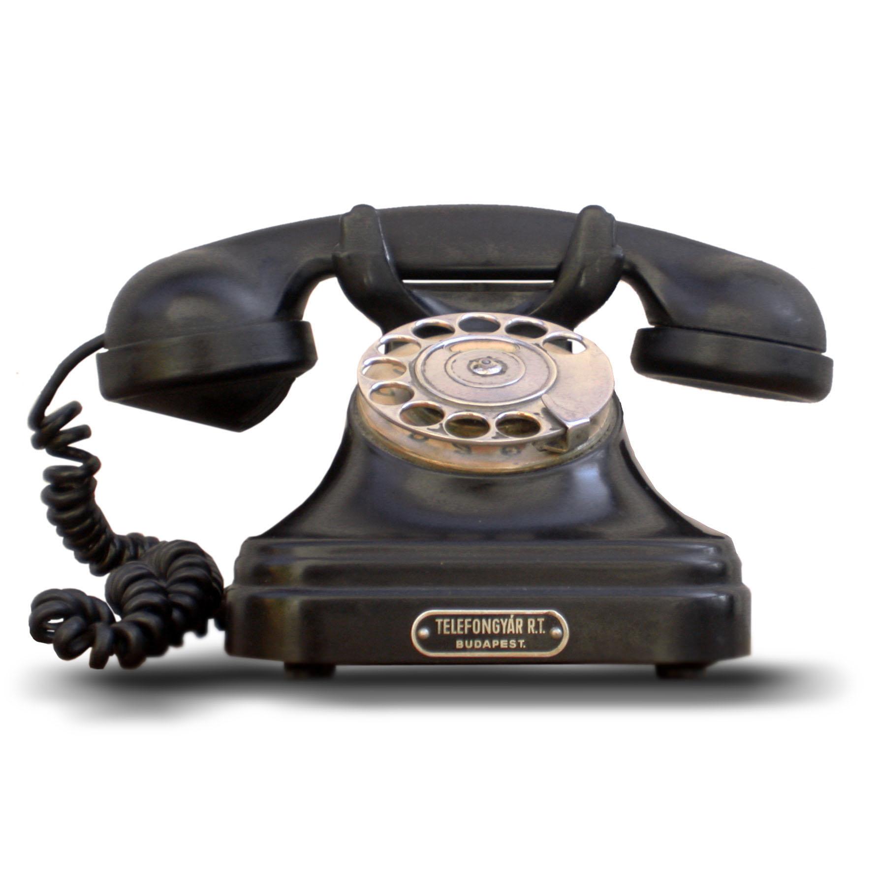 Bakelite phones made for better movie plots (pic Takkk)