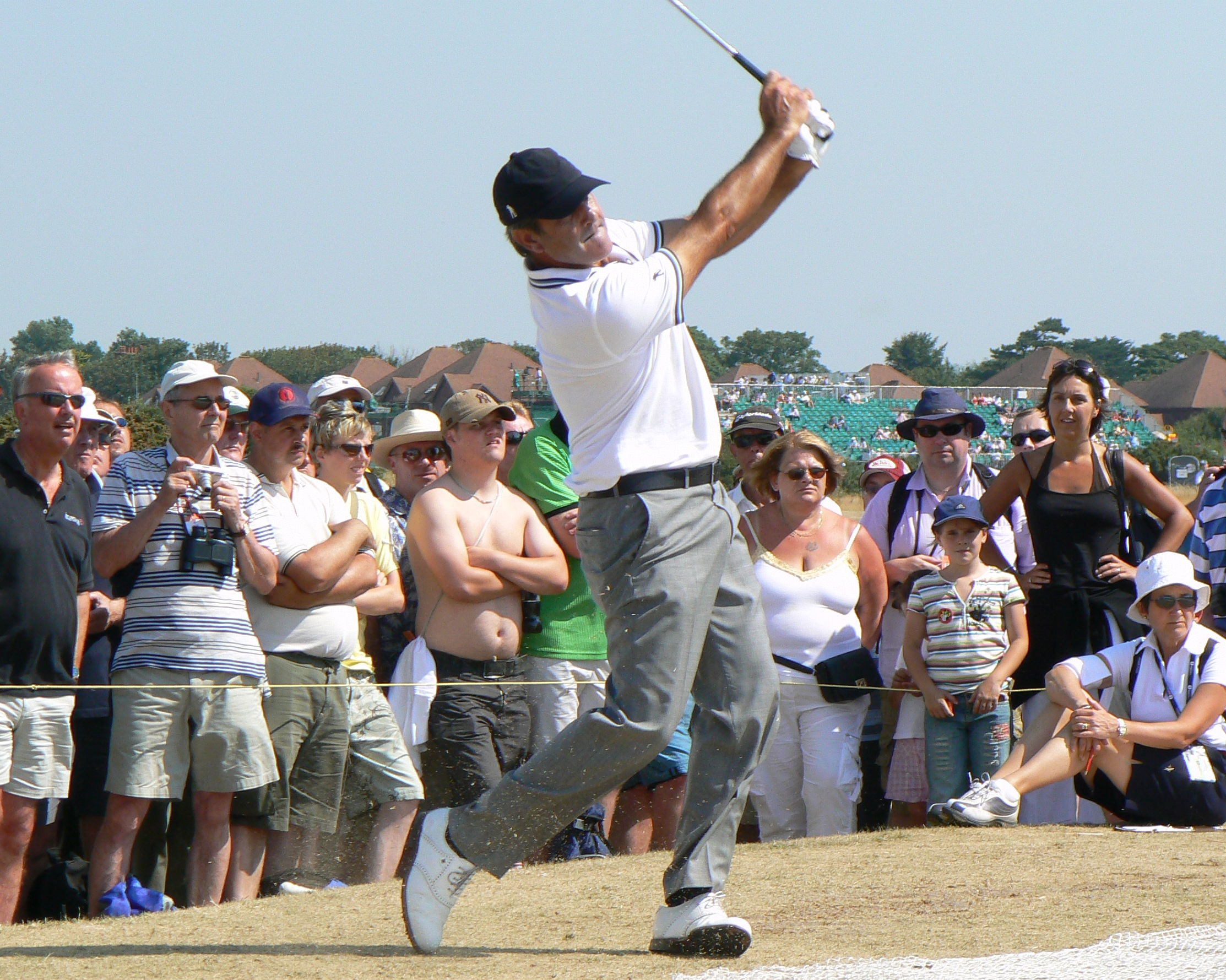 Seve Ballesteros (pic by Peter from Liverpool, UK)