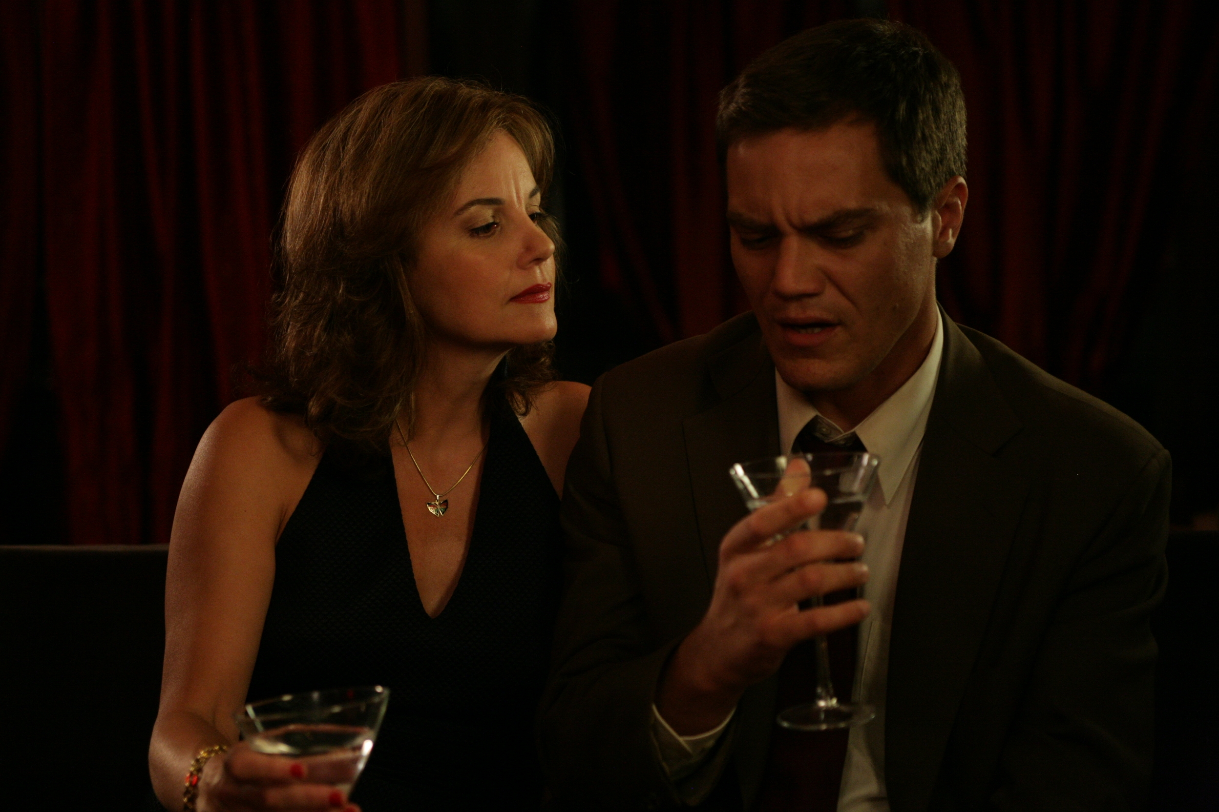 Margaret Colin and Michael Shannon