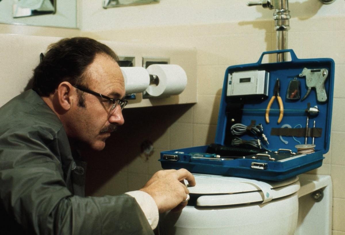 Gene Hackman stars as Harry Caul in The Conversation