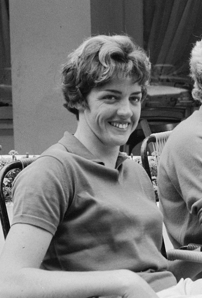 Margaret Court in the 1960s