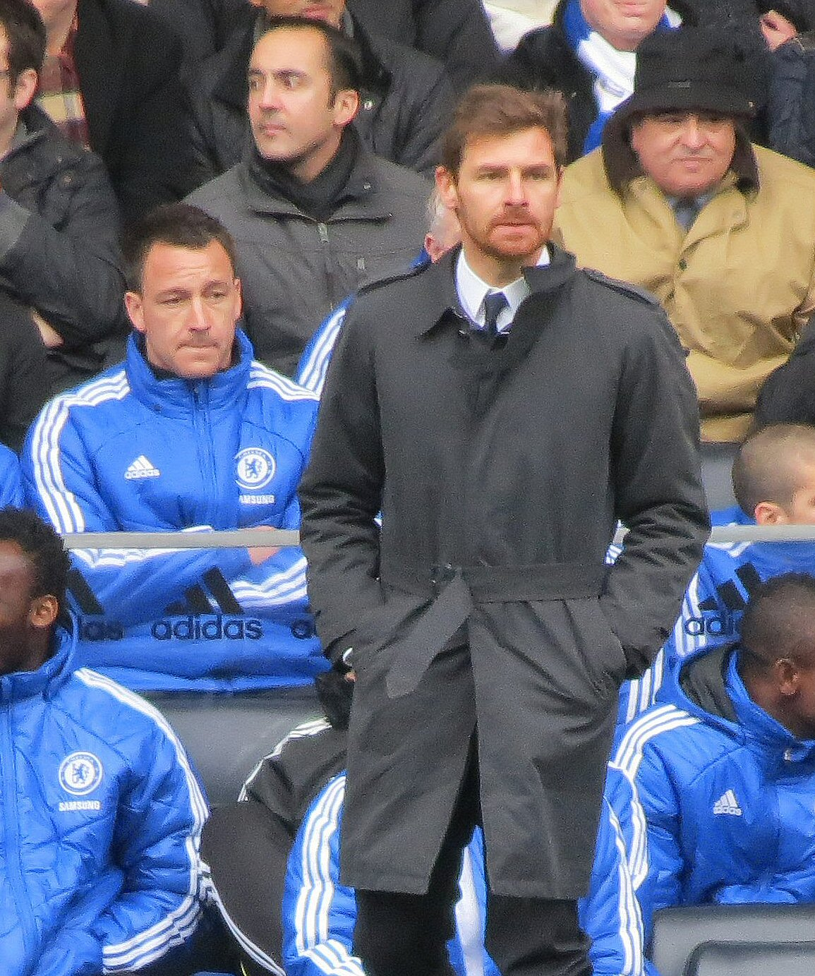 Andre Villas Boas, February 2012 (pic by London Pixels)
