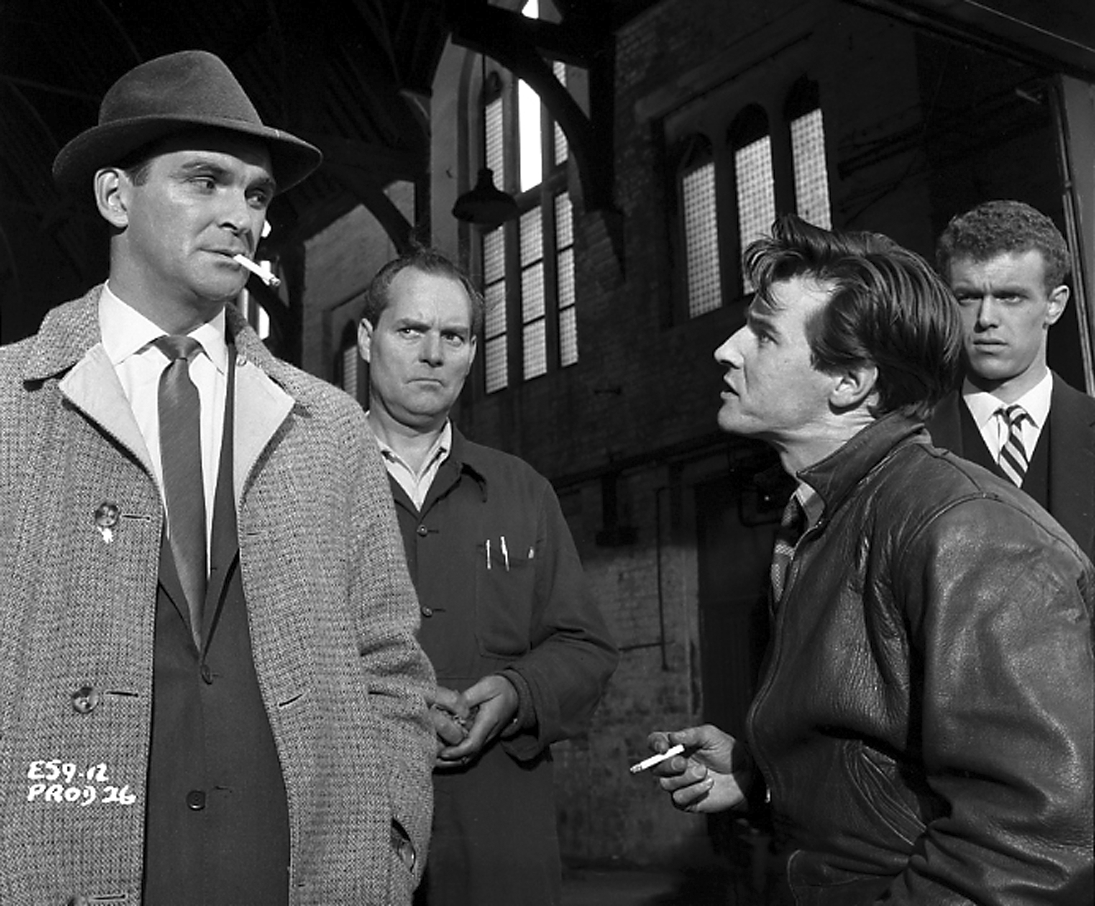 Stanley Baker in Hell is a City