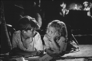 Georges Poujouly, Brigitte Fossey in Forbidden Games