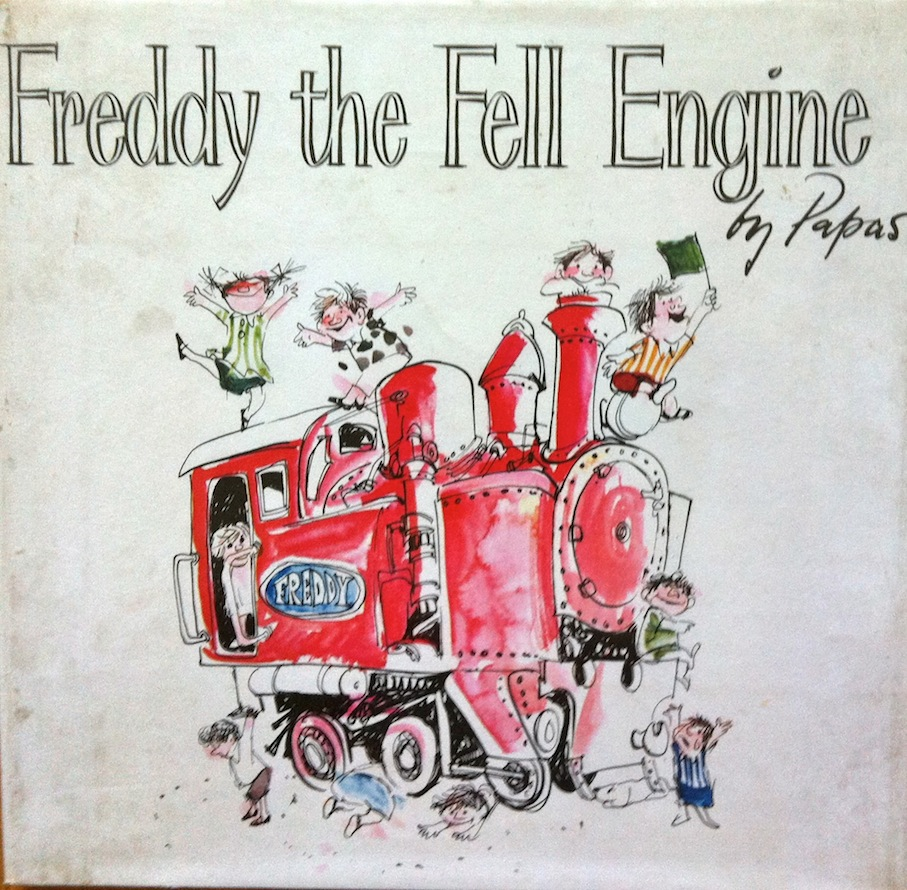Freddy the Fell Engine, a 1966 children's book, illustrated by Papas