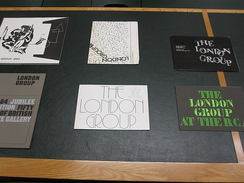 London Group catalogues