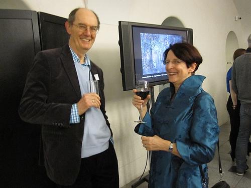 Dr Richard Cork, Susan Haire