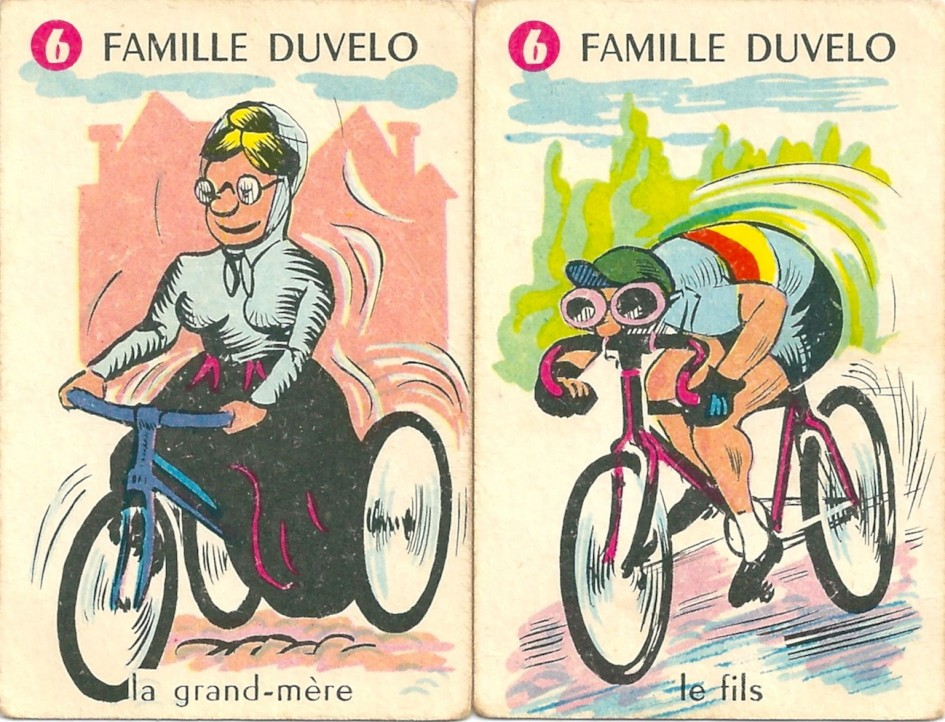 Familles Champions, Famille Duvelo