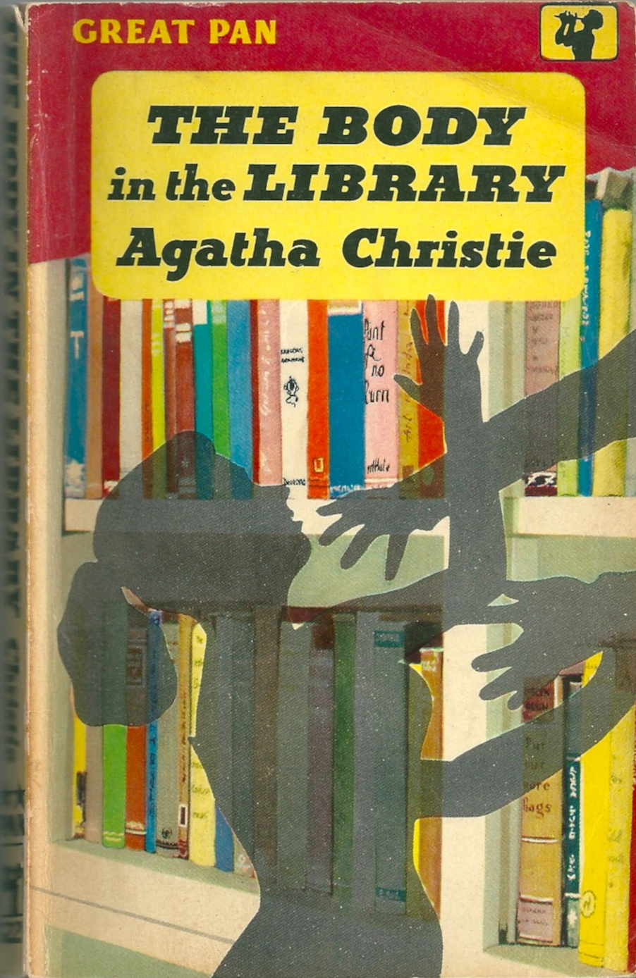 Agatha Christie, The Body in the Library, 1959 Pan edn.