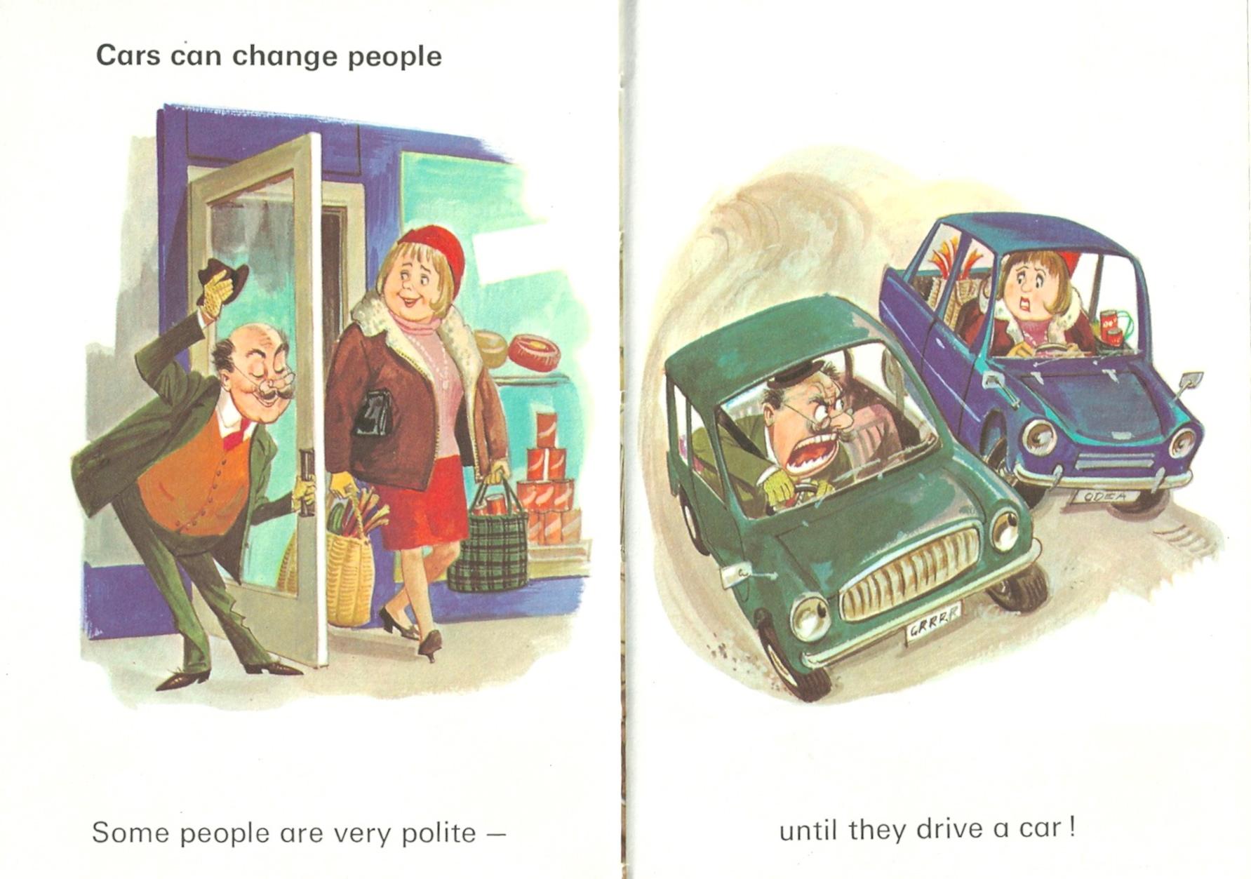 Man and his car, Ladybird books