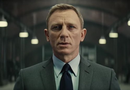 All doom and gloom? Daniel Craig as James Bond